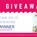 Giveaway: You Can Do It, Chickadee Book