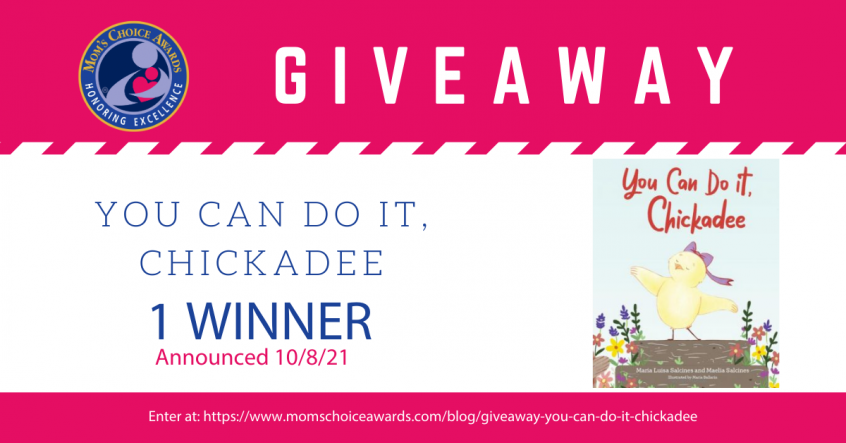 Giveaway You Can Do It Chickadee Book