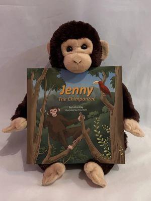 Award-Winning Children's book — Jenny the Chimpanzee