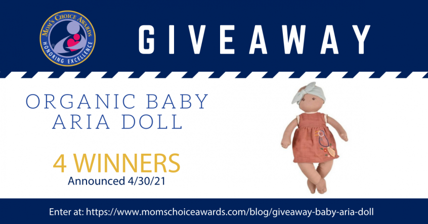 Giveaway Organic Baby Aria Doll
