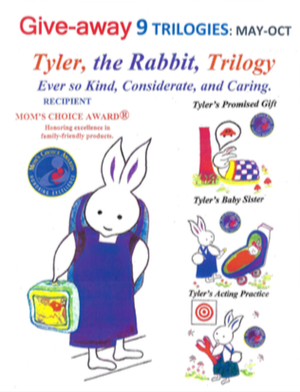 Tyler, The Rabbit Trilogy Giveaway Announcement.