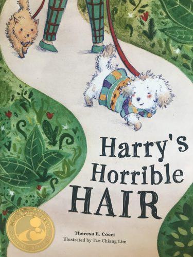 """""""Harry's Horrible Hair"""" Cover Art."""