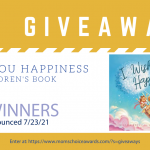Giveaway: I Wish You Happiness Book