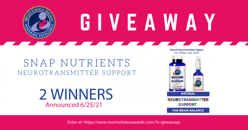 Giveaway: SNAP Nutrients Neurotransmitter Support!