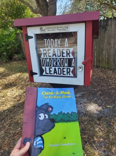 """""""Chunk-A-Monk, The Big Black Skunk"""" available in a free library"""