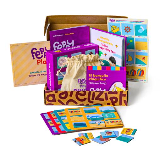 Ronit Shiro's award-winning Product, Feppy Box!