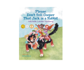 """""""Please Don't Tell Cooper That Jack is a Rabbit"""" cover art."""