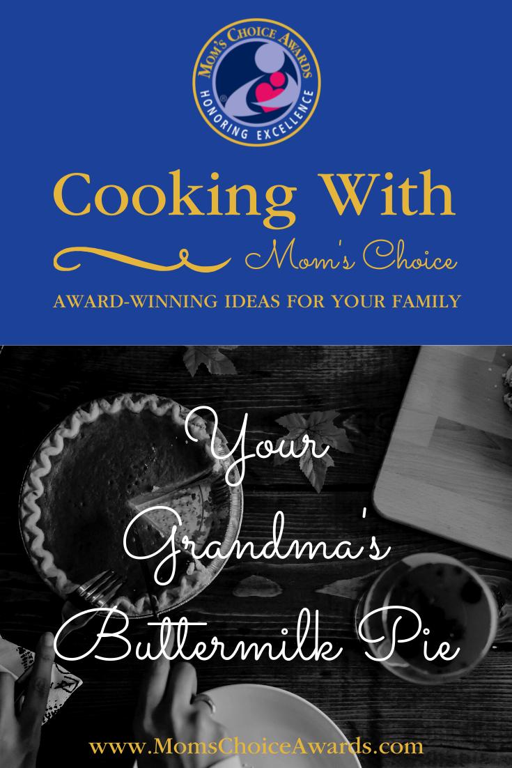 Your Grandma's Buttermilk Pie