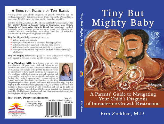 """""""Tiny But Mighty Baby"""" Cover Art."""